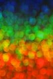 färgrik sexhörning för bakgrund Arkivfoton