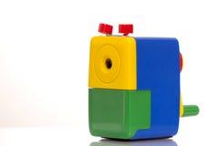 färgrik sharpener arkivfoton