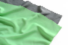 Färgrik siden- torkduk Royaltyfri Bild