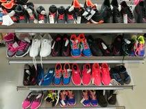 färgrik skosport Royaltyfri Fotografi