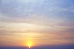 färgrik sky för bakgrund Arkivfoton