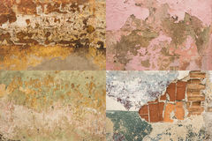 Färgrik sliten vägghavannacigarr #5 arkivbilder