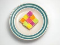 Färgrik sockergelé Arkivfoto