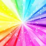 färgrik sparkling för bakgrund Royaltyfri Bild