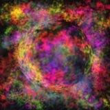 färgrik sphere Arkivbild