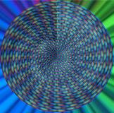 färgrik spiral royaltyfri illustrationer