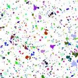 Färgrik sprejbakgrund för abstrakt akvarell Royaltyfria Bilder