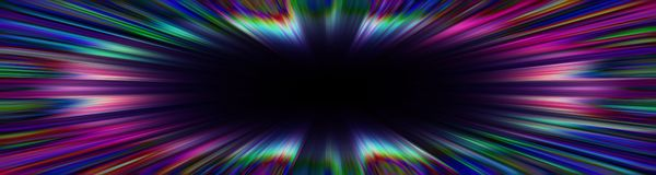 Färgrik starburstexplosiongräns royaltyfria foton