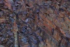 Färgrik stentexturbakgrund Arkivbild