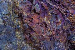 Färgrik stentexturbakgrund Royaltyfri Foto
