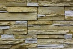 färgrik stenvägg för bakgrund Arkivbild