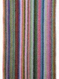 färgrik stucken scarf arkivfoton
