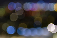 Färgrik suddig bakgrundsbokeh Arkivfoto