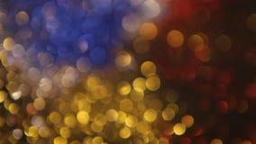 Färgrik suddig bokehbakgrund lager videofilmer