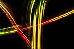 Färgrik suddig futuristisk abstrakt bakgrund Royaltyfri Foto