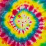 Färgrik suddig spiral med hypnotisk effekt Royaltyfri Fotografi
