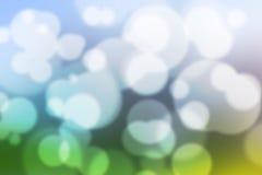 Färgrik suddig tapet för färgrik Bokeh bakgrund fotografering för bildbyråer