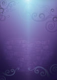 färgrik swirlvägg Arkivbild