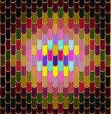 färgrik tegelplatta Arkivbild