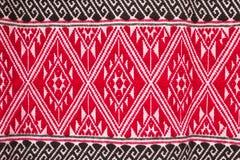 Färgrik textilmodell Royaltyfri Foto