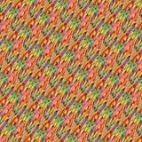 Färgrik textilmodell och bakgrund Royaltyfri Bild