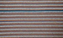 Färgrik textur av matta Fotografering för Bildbyråer