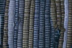 färgrik textur för matta Bakgrund av andalusian matta Jarapa Royaltyfri Bild