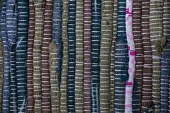 färgrik textur för matta Bakgrund av andalusian matta Jarapa Arkivfoto