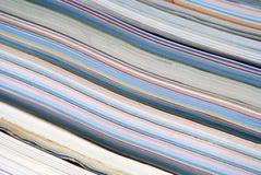 färgrik tidskriftbunt Arkivfoton