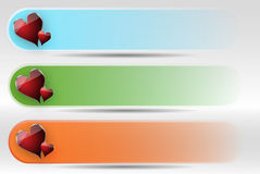 färgrik titelradset Arkivfoton