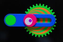 färgrik toy royaltyfri fotografi