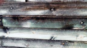 Färgrik trävägg texturerad bakgrund Arkivbild