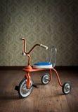 Färgrik trehjuling för tappning Fotografering för Bildbyråer