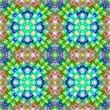 Färgrik upprepande abstrakt modell Royaltyfri Foto