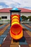 färgrik utrustninglekplats Royaltyfria Foton