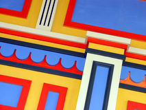 färgrik vägg Royaltyfri Fotografi
