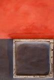 färgrik vägg Arkivfoton