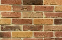 färgrik vägg för bakgrundstegelsten Arkivbilder