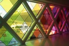 Färgrik välkomnande för Miami flygplats royaltyfria bilder