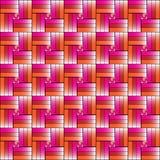 Färgrik vävbakgrundsvektor Royaltyfria Bilder