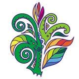Färgrik växt Fotografering för Bildbyråer