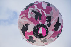 färgrik varm sky för luftballong Royaltyfri Fotografi