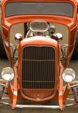färgrik varm stång för bilar Arkivbilder
