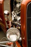 färgrik varm stång för bilar Royaltyfri Foto