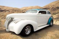färgrik varm stång för bilar Royaltyfri Bild