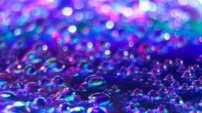 Färgrik vattendroppe Royaltyfri Bild