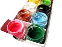 Färgrik vattenfärg Royaltyfri Foto