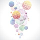 färgrik vektor för abstrakt bakgrund Royaltyfri Fotografi