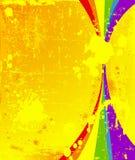 Färgrik vertikal bakgrund Royaltyfri Foto
