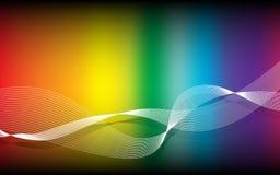 Färgrik yttersida. Abstrakt bakgrund för vektor Arkivbild